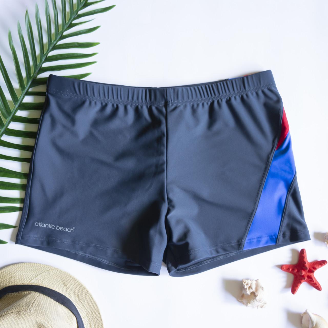 Мужские плавки шорты Серый /Синий