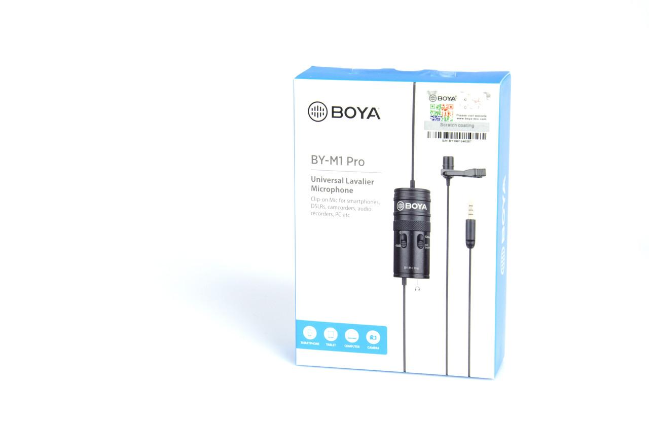 Микрофон петличка Boya BY-M1 Pro