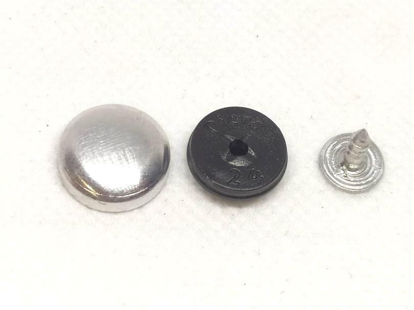 Пуговица для обтягивания 14 мм №24 Прибивная