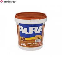 Средство защиты для дерева Aura Lasur Aqua тик 2.5л AURA