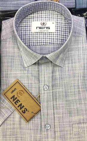 Батальная льняная рубашка NENS, фото 2