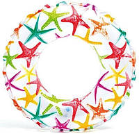 Надувной круг Звёздочка Intex