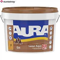 Средство защиты для дерева Aura Lasur Aqua прозрачный 2.5л AURA