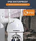 Уличная камера видеонаблюдения Inqumega 2 Lens 1080 IP WiFi 4X  поворотная, фото 5