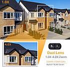 Уличная камера видеонаблюдения Inqumega 2 Lens 1080 IP WiFi 4X  поворотная, фото 6