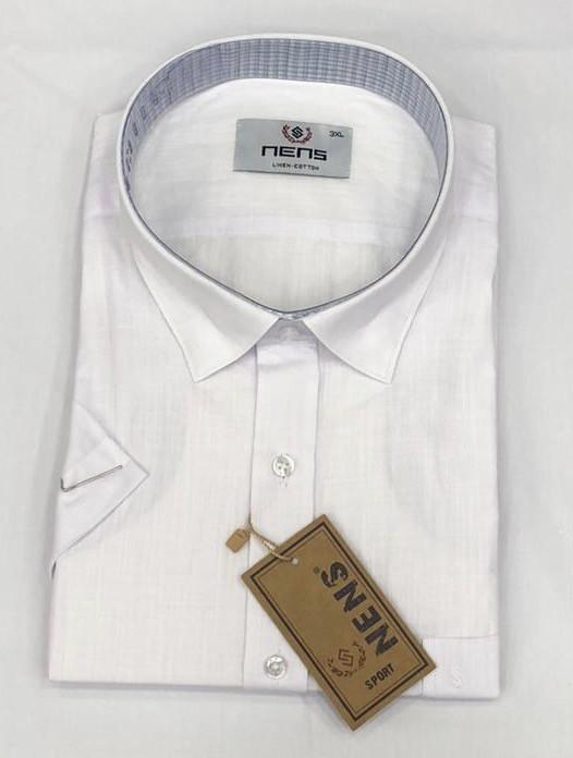 Батальная льняная рубашка NENS