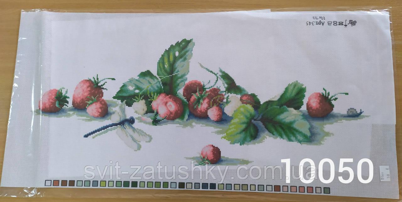 Канва з нанесеним малюнком для вишивання /Канва с нанесенным рисунком для вышивания