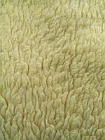 Бытовой текстильный коврик Молочно бежевого цвета с имитацией овчины 99*77 см