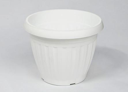 """Горшок цветочный """"Бутон"""" D 38 см белый Эталон-С"""