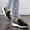 Женские черные кроссовки Bruiser 1659, фото 4