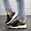 Женские черные кроссовки Bruiser 1659, фото 6