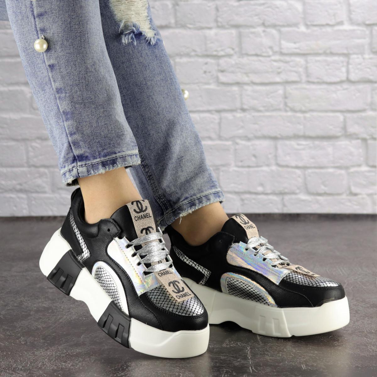 Женские черные кроссовки Leroy 1323