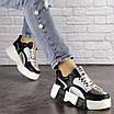 Женские черные кроссовки Leroy 1323, фото 2