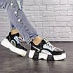 Женские черные кроссовки Leroy 1323, фото 5