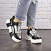 Женские черные кроссовки Leroy 1323, фото 7