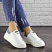 Женские белые кроссовки Fletcher 1654, фото 5