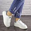 Женские белые кроссовки Fletcher 1654, фото 6