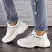 Женские белые кроссовки Harper 1463, фото 7