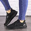 Женские черные кроссовки Ninja 1490, фото 5