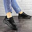 Женские черные кроссовки Rosco 1674, фото 3