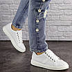 Женские белые кроссовки Jenna 1635, фото 5