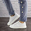 Женские белые кроссовки Jenna 1635, фото 7