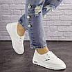 Женские белые кроссовки Jock 1638, фото 3