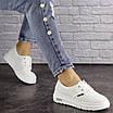 Женские белые кроссовки Jock 1638, фото 7