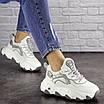 Женские белые кроссовки Lark 1667, фото 3