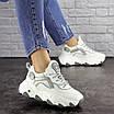 Женские белые кроссовки Lark 1667, фото 4