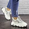 Женские белые кроссовки Lark 1667, фото 5