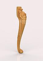 Ножка для стула 420х90х90, ясень