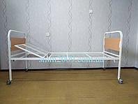 ВИНТОВАЯ Кровать медицинская функциональная  2-х секционная для лежачих больных и больных после инсульта