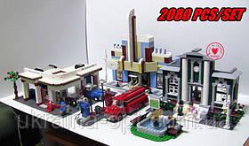 Конструктор «План город». Деталей 2080. Для детей от 6 лет. Lepin 02022
