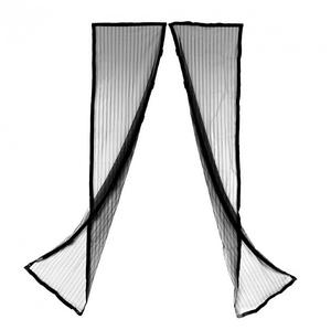 Антимоскитная сетка Supretto Magic Mesh 210х102 см Черная (C141-0003)