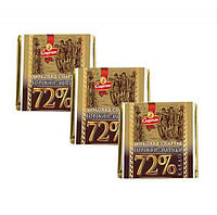 Весовой шоколад Спартак горький-элитный 72%