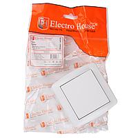 Выключатель ElectroHouse Acura белый 1кл EH-2140