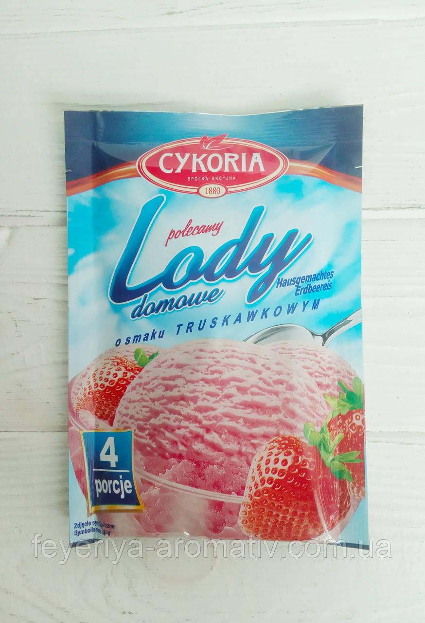 Cykoria Lody домашнее сухое мороженое клубника 60 г.