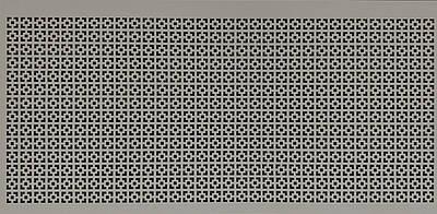 Панель (решетка) декоративная перфорированная, цвет серый, 1390 мм х 680 мм Эфес