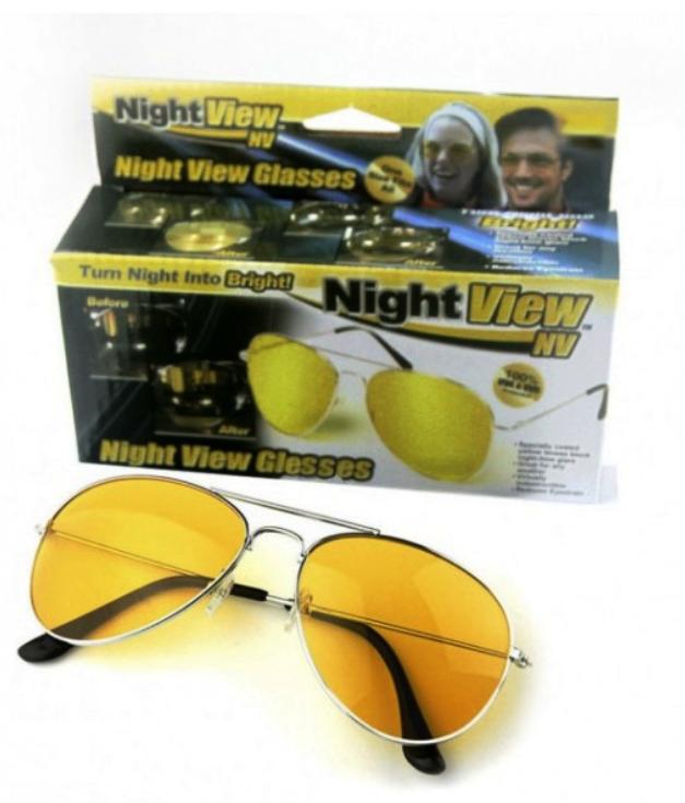 """Антибликовые очки для водителей HD """"Vision Wrap Arounds"""" поляризованные"""
