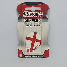 Оперение для дротиков дартс Dimplex Harrows 6 штук, фото 2
