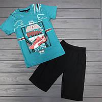 Комплект Футболка и шорты  для мальчиков оптом р.6-7лет