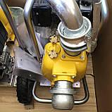 Дизельна грязьова мотопомпа Varisco VAR 1-180 MLD10 G10 TROLLEY на візку, фото 4
