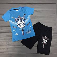 Комплект Футболка и шорты  для мальчиков оптом р.5-8лет