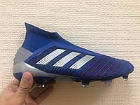 Бутсы adidas Predator 19+ FG/AG Blue/Silver/Red