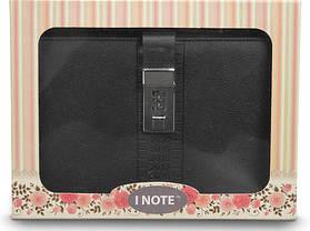 Блокнот-ежедневник с кодовым замком CAGIE Biz 96 Черный NA-56896, фото 3