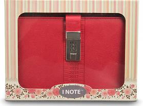 Блокнот-ежедневник с кодовым замком CAGIE Biz 96 Розовый NA-56897, фото 3