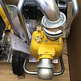 Дизельна грязьова мотопомпа Varisco VAR 2-120 MLD56 G10 TROLLEY на візку, фото 3