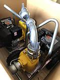 Дизельна грязьова мотопомпа Varisco VAR 2-120 MLD56 G10 TROLLEY на візку, фото 5