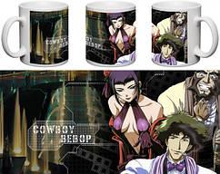 Кружка чашка  Cowboy Bebop